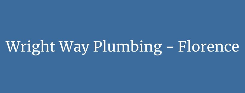 Wright Way Plumbing, LLC - Florence logo